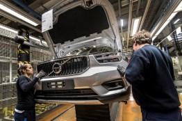 In Deutschland kommt der Volvo im März 2018 auf den Markt. Bild: Volvo Cars