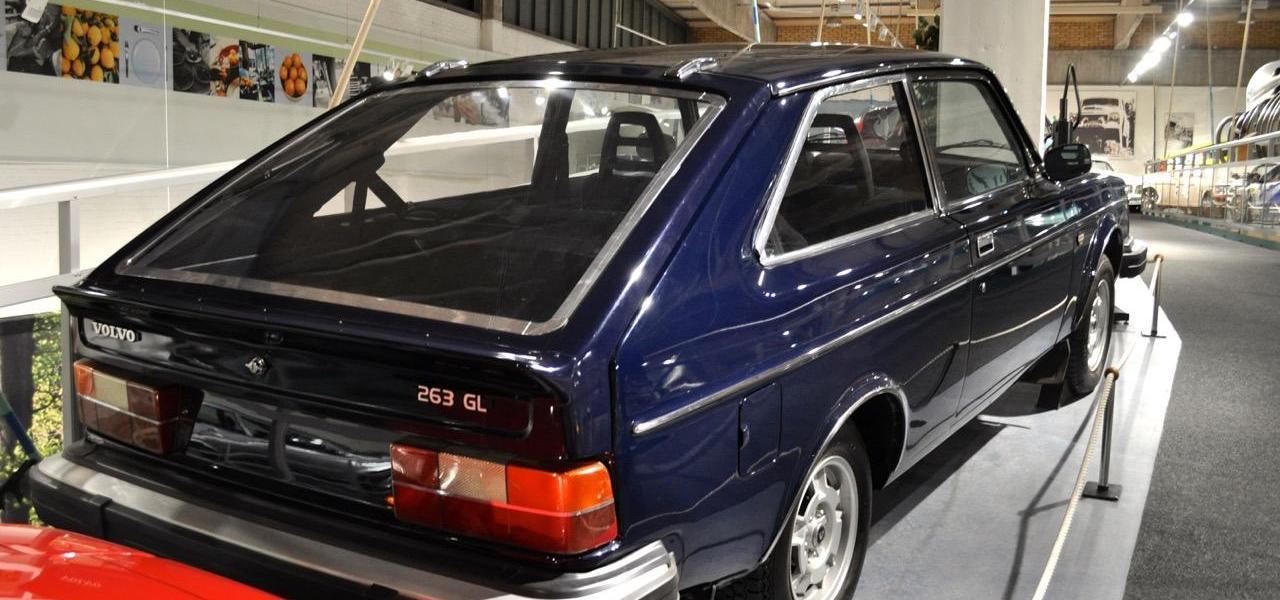Komplett vergessen. Der Volvo 263.