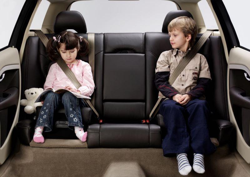 Kindersitz im Volvo V70