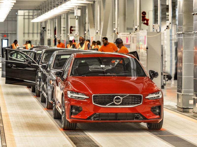 Volvo Produktion in South Carolina