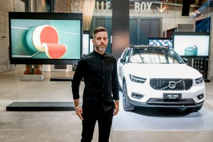 Volvo Art Session 2018: Andreas Wannerstedt