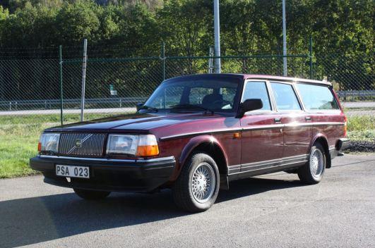 Ein später Volvo 245 Classic aus 1993