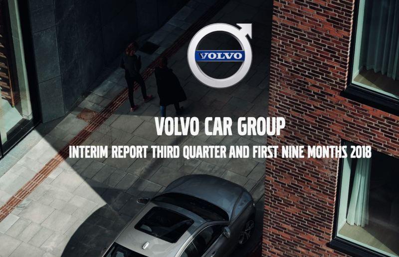 Volvo Quartalszahlen. Weniger verdient, mehr verkauft.