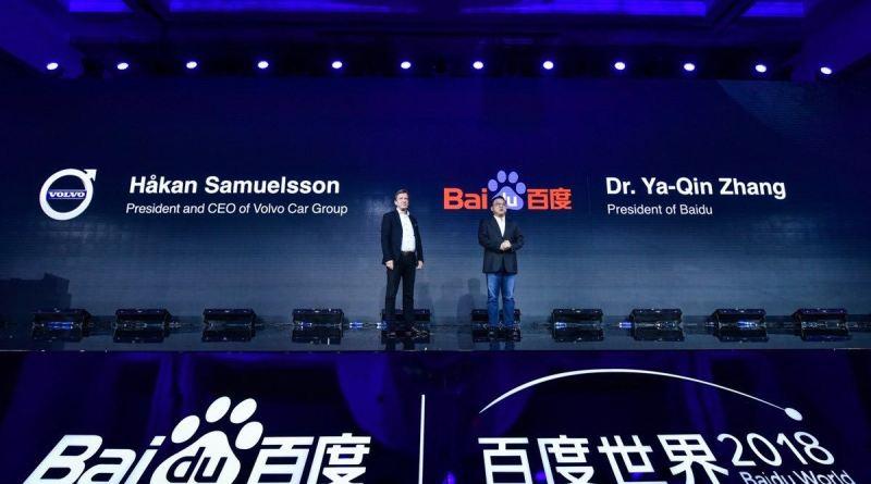 Volvo Cars und Baidu kooperieren