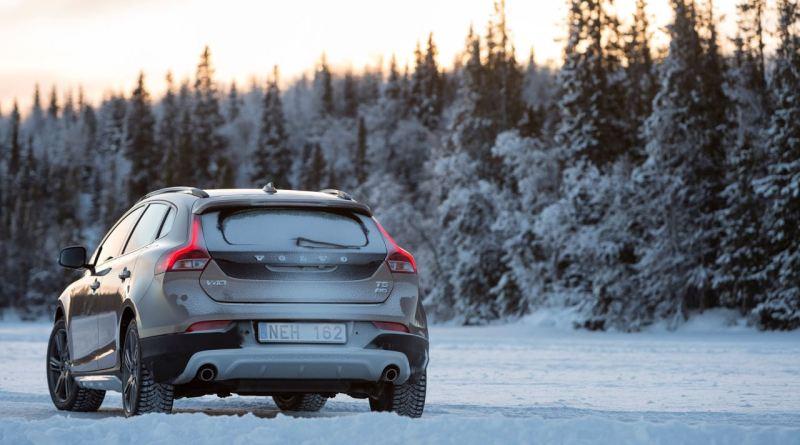 Volvo V40 CC im winterlichen Schweden. Der Nachfolger wird in China produziert