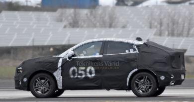 Lynk & Co 05 SUV-Coupe Spyshot?