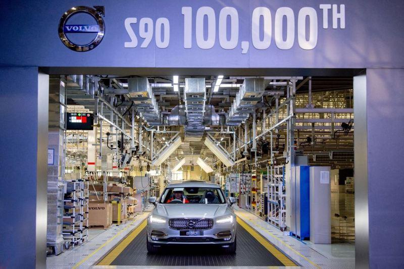 100.000 Volvo S90 aus dem Werk Daqing