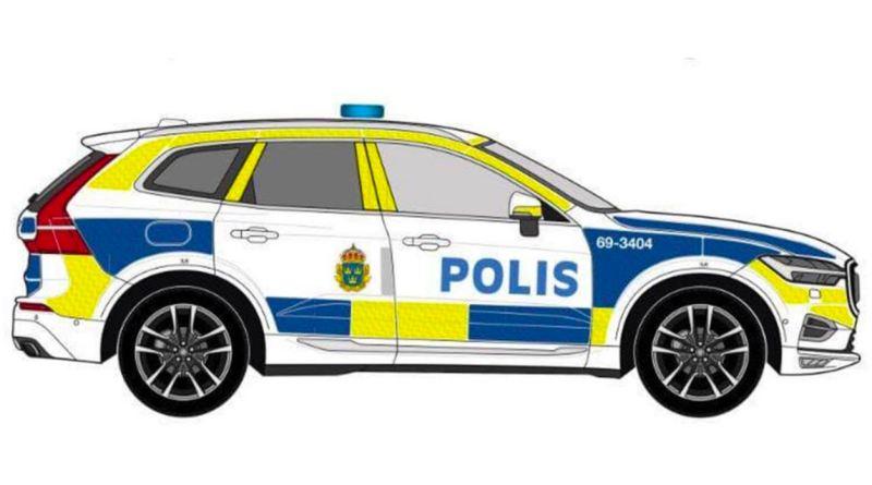 Neue XC60 für die schwedische Polizei