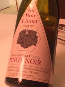 Au Bon Climat Pinot noir