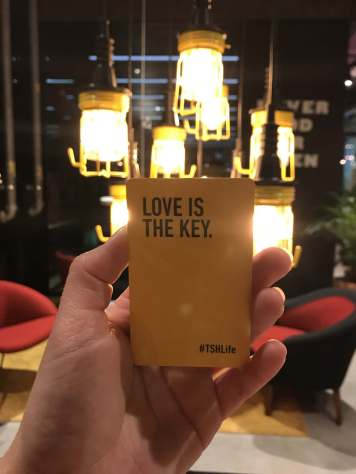 Love is the key.