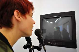 Nam June Paik, Participation TV Audio, 1998-2001, Kunsthalle Bremen – Der Kunstverein in Bremen