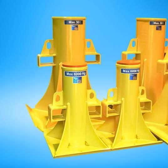 Nordlift tunkit ja tukipukit 30 6 ton tukipukit 40
