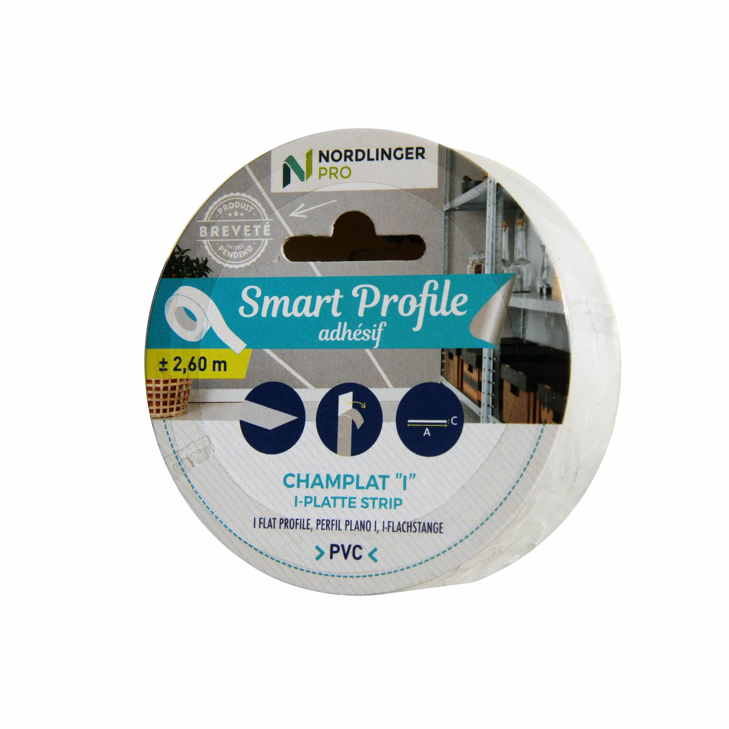 Profil Pvc Plat Adhesif Et Flexible Champlat