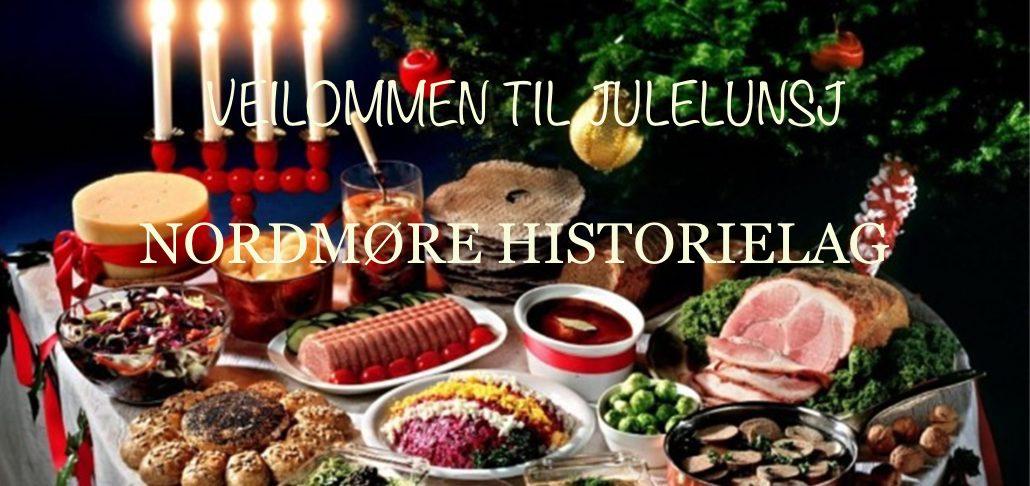 NORDMØRE HISTORIELAG INVITERER TIL JULELUNSJ