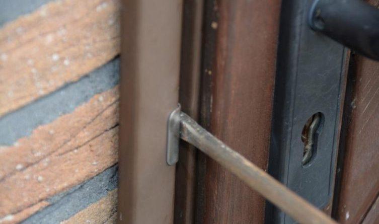 Einbruch Tür Einbruch1