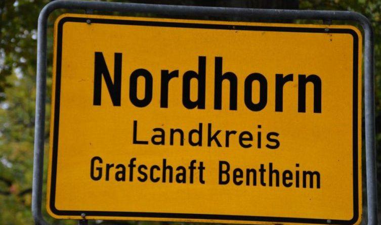 Nordhorn ortsschild