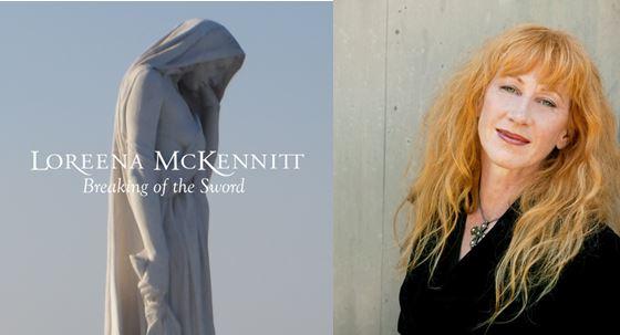 """LOREENA MCKENNITT veröffentlicht brandneuen Song """"BREAKING OF THE SWORD"""" Foto: Single artwork; Artist photo, credit: courtesy of the artist"""