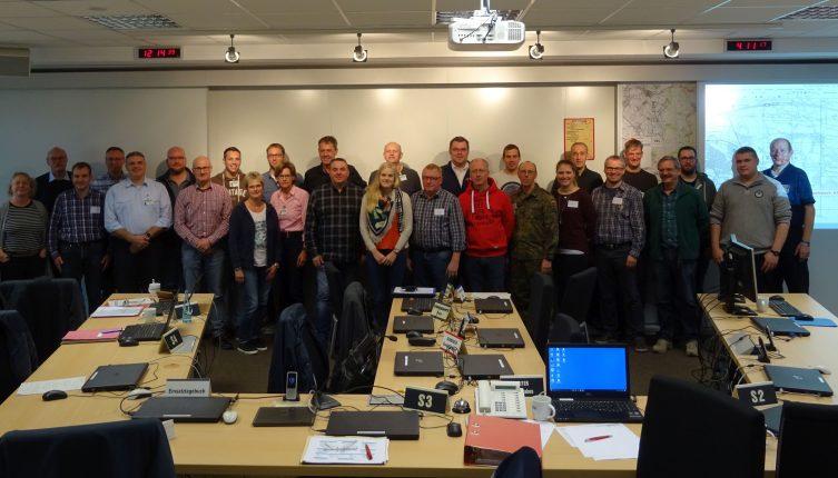 Übung erfolgreich absolviert - Katastrophenschutzstab erprobt aktualisierten Notfallplan - Der Katastrophenschutzstab des Landkreises Emsland absolvierte erfolgreich eine Übung.