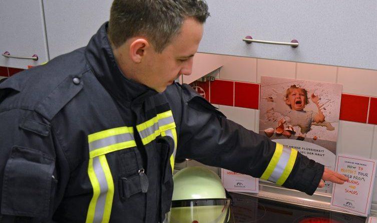 Tag des brandverletzten Kindes - am 07. Dezember - Infos der Feuerwehr Meppen Foto: Jens Menke