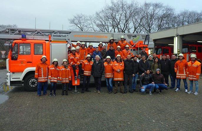 Besuch ausländischer Mitbürgerinnen und Mitbürger bei der Feuerwehr Meppen Foto: Feuewehr Meppen