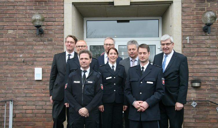 Geeste - Polizeistation im Alten Rathaus offiziell eingeweiht Foto: Presseportal.de