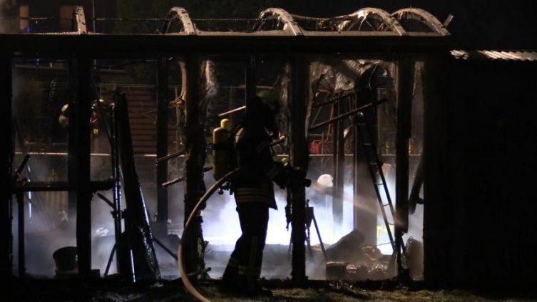 Aktuell: Brand in der Johannesstraße in Lingen Foto: NordNews.de
