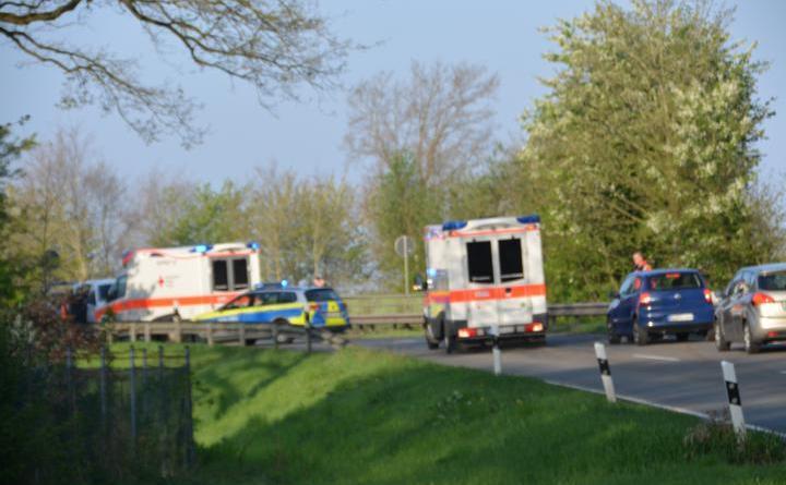 Aktuell Zusammnstoß zwischen Kleinschulbus und PKW auf der Dalume Straße Foto:NordNews.de