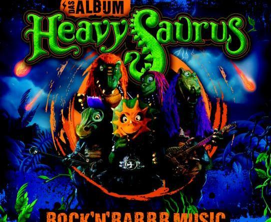"Heavysaurus ""Rock 'n' Rarrr Music"" ab dem 18. Mai erhältlich"