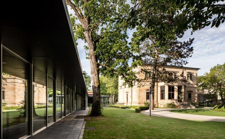 """Architekturreihe mit Per Pedersen von Staab-Architekten aus Berlin - Vortrag """"Anknüpfen: Respekt & Perspektive"""" am 17. Mai 2018 Foto: Marcus Ebener"""