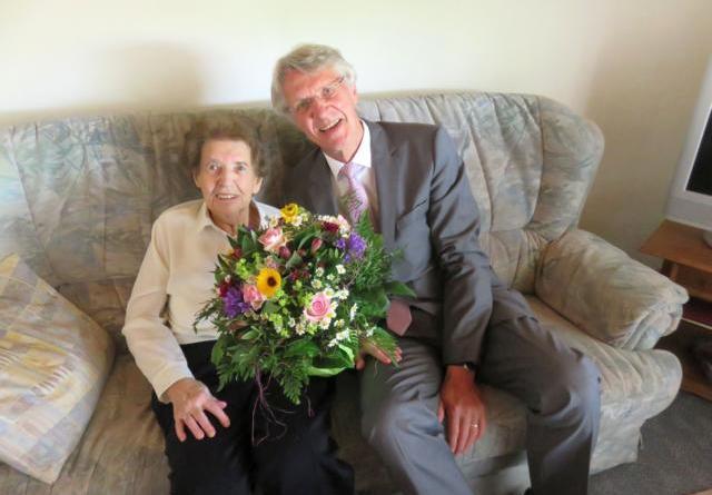 Elisabeth Busche feiert 102. Geburtstag. Foto: Stadt Lingen