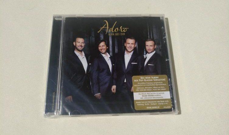 Gewinnspiel: CD von Adoro zu verlosen