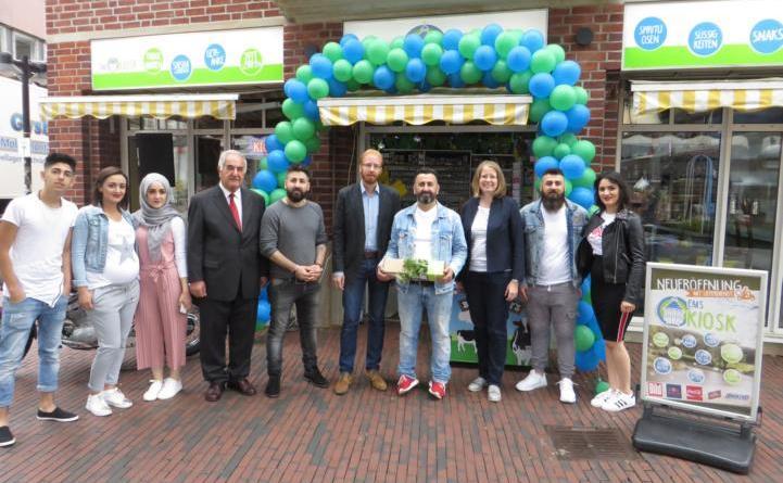 """Neuer """"Ems Kiosk"""" am Marktplatz bietet Lieferservice an Foto: Stadt Lingren"""