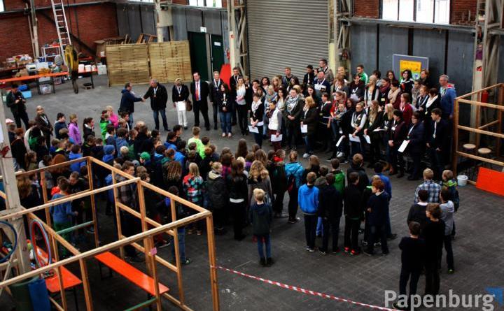 Pap(p)stadt 2018 – Noch Plätze frei - Wieder zahlreiche Teilnehmer werden bei der diesjährigen Pappstadt erwartet, wie in den Vorjahren auch. Foto: Stadt Papenburg