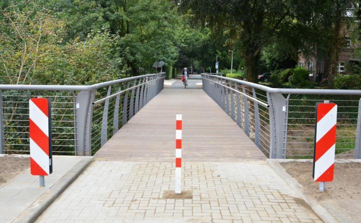 Brücke Van-Delden-Straße befahrbar Foto: Stadt Nordhorn