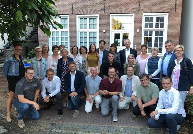 Nordhorn begrüßte alle Partnerstädte zum Fest der Kulturen -Delegationen erlebten Jubiläum und Wasserstadt-Wochenende Foto: Stadt Nordhorn