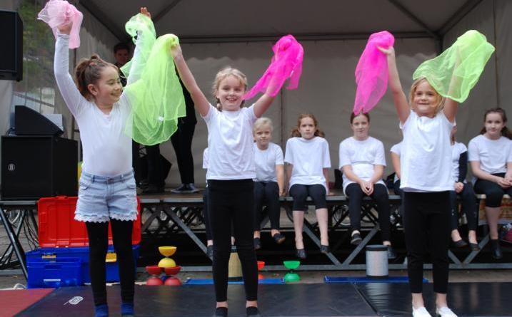 Weltkindertagsfest mit buntem Programm auf dem Blankeplatz Foto: Stadt Nordhorn
