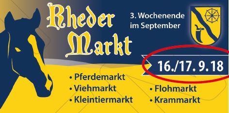 Rheder Markt 2018