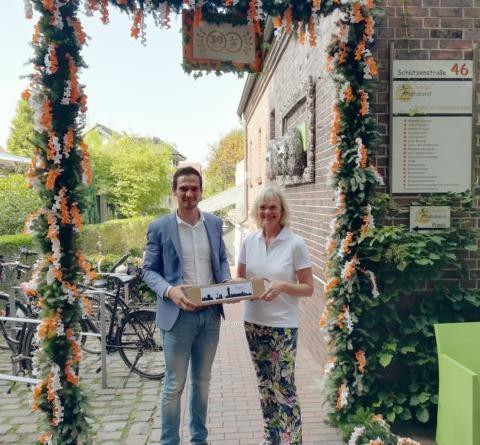 30 Jahre Praxis für Physiotherapie & Gesundheitsförderung Sabine Fastabend Foto: Stadt Lingen