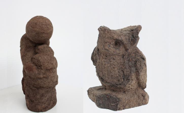 Figuren schnitzen aus Torf - Kunstschule Zinnober - Foto: Kunstschule Zinnober
