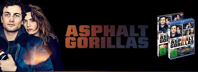 ASPHALTGORILLAS Detlev Bucks starbesetzte Gangsterkomödie! Ab dem 07. Februar 2019 auf DVD, Blu-ray und als Video on Demand