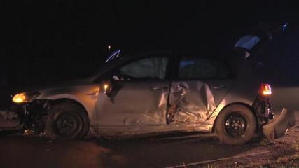 Aktueller Unfall - Mit 1,13 Promille und ohne Führerschein in einer Kurve zwischen Beesten und Messingen überholt Foto Nordnews
