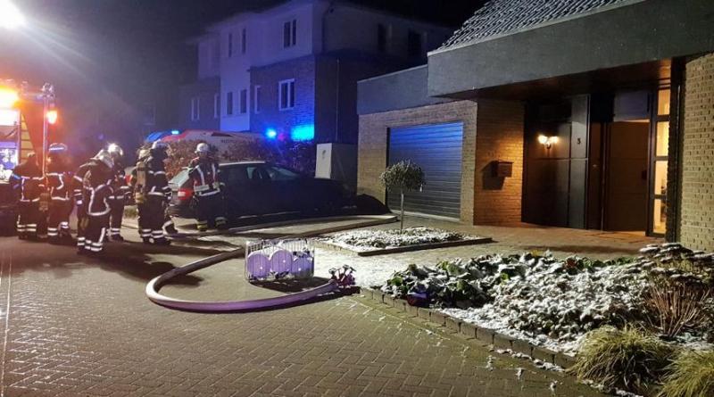 Einsatz der Feuerwehr Lingen in der Fuchsstraße Foto: NordNews.de