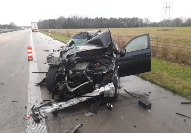 Bad Bentheim - Unter Drogen Unfall verursacht Foto: Polizei