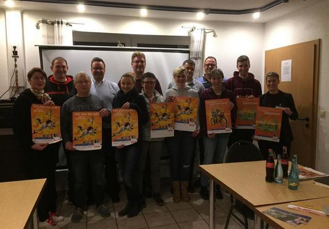 BU: 12 Teilnehmerinnen und Teilnehmer informierten sich beim SV Groß Hesepe Foto: KSB