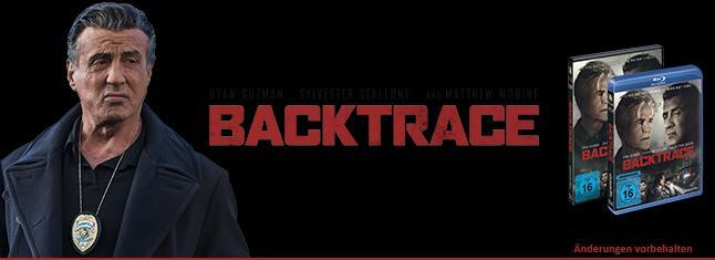 BACKTRACE - VERGESSEN – GNADE ODER GEFAHR? Der neue Film mit Actionlegende Sylvester Stallone! Ab dem 21. März 2019 auf DVD, Blu-ray und digital erhältlich