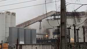 Aktuell - Lingen/ Darme: Brand eines Industriegebäudes in der Niederdarmer Straße Foto: NordNews.de