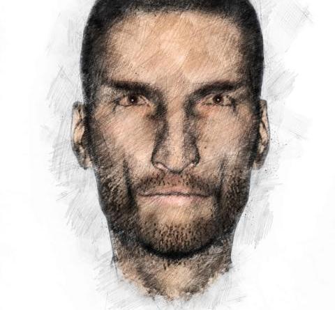 Lingen - Raub in Lingen - Polizei sucht mit Phantombild nach Täter eines Raubes Foto: Polizei