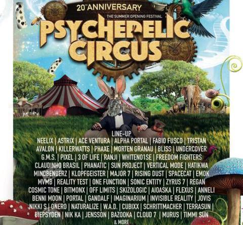 20 Jahre Psychedelic Circus - Elfen, Magier, Artisten, Reisende und die besten psychedelic DJs – Die Welt trifft sich zum Opening der Festivalsaison in Göhlen bei Ludwigslust