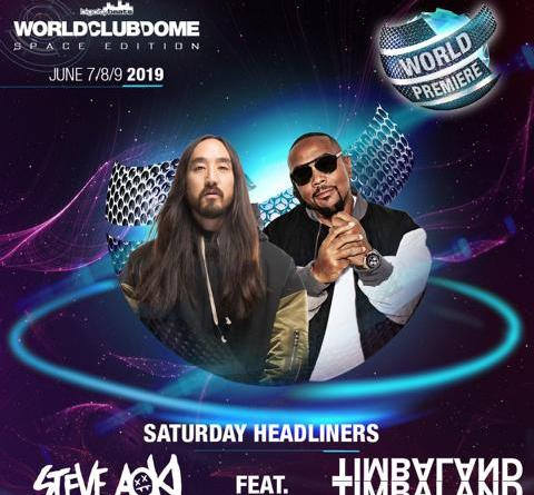 BigCityBeats WORLD CLUB DOME Space Edition in Frankfurt - Weltpremiere: Steve Aoki feat. Timbaland exklusiv beim WORLD CLUB DOME live on Stage