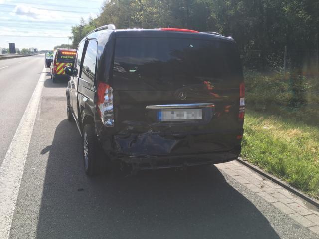 Schüttorf - Vollsperrung der A 30 nach Verkehrsunfall Foto: Polizei